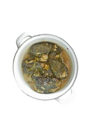 asian tasty dish isolated