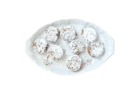 vegan muffins on plate Banco de Imagens