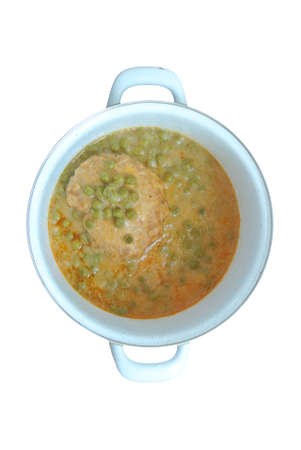 soup broth of pea isolated Banco de Imagens - 152901023