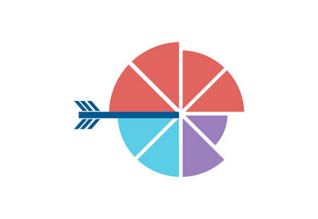 pie chart target icon