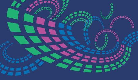 technology spiral pattern background backdrop