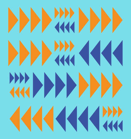 abstract geometric arrow pattern background