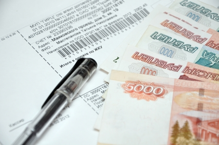 Money, Balancing the Accounts and pen photo