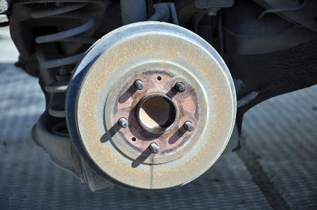 Brake drum of the car Stock Photo - 16201105