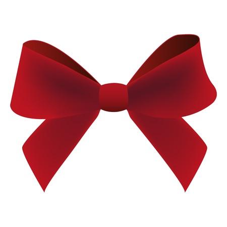 claret bow Stock Vector - 16240991