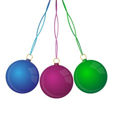 Christmas balls  Stock Vector - 16241005