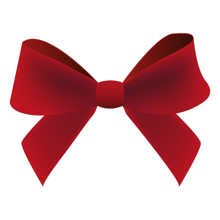 claret bow Stock Vector - 16575708