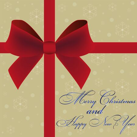 Christmas card invitation Stock Vector - 16576357