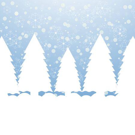 Winter Landscape Stock Vector - 16599678
