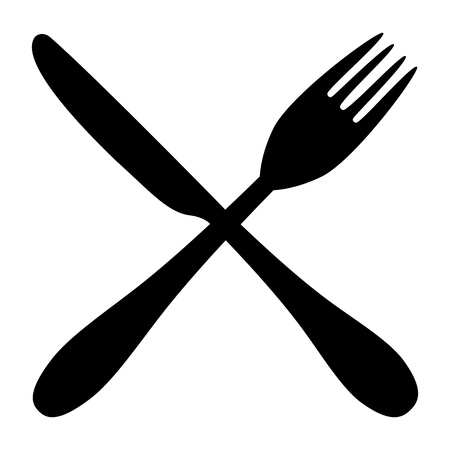 fork and knife  Stock Vector - 16599691