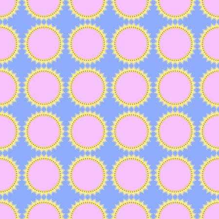 seamless wallpaper Stock Vector - 16599712