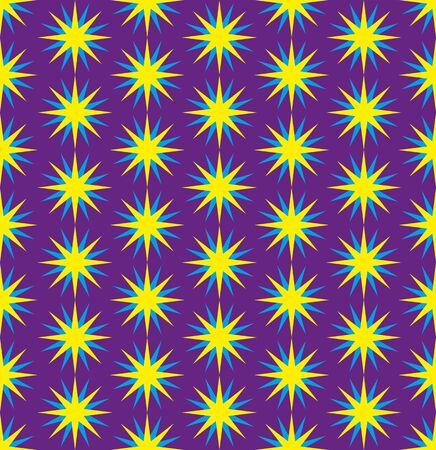 sophistication: Seamless texture  stars  Illustration