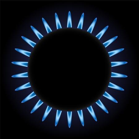 burning gas Stock Vector - 16599676