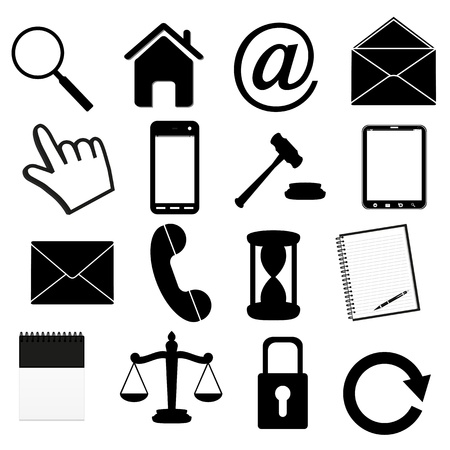 icons  Stock Vector - 16618002