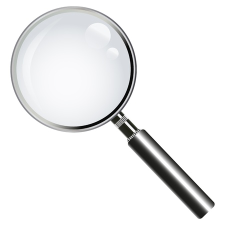 magnifying glass  Stock Vector - 16618006