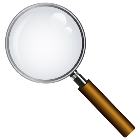 magnifying glass  Stock Vector - 16618001