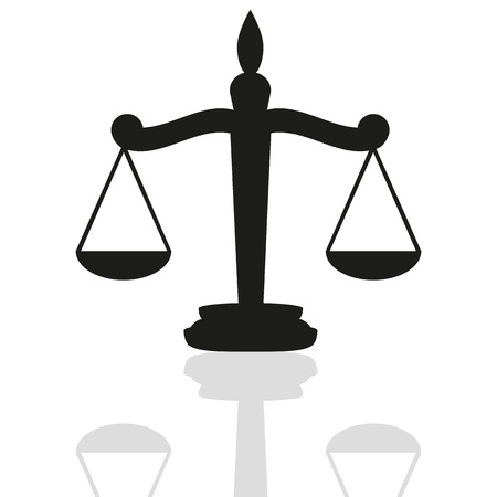 Scales of Justice Stock Vector - 16672150