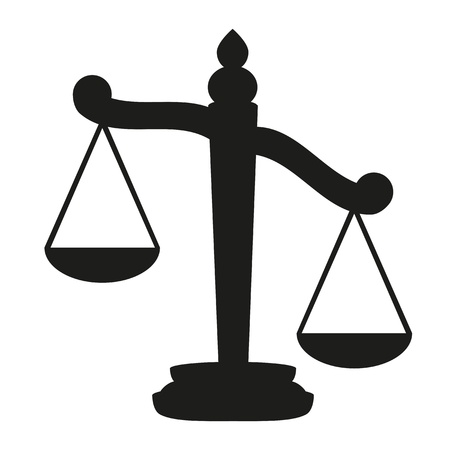 Scales of Justice  Stock Illustratie
