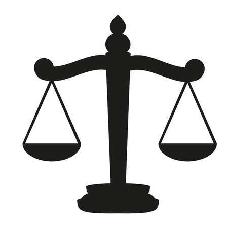 Scales of Justice  Illustration