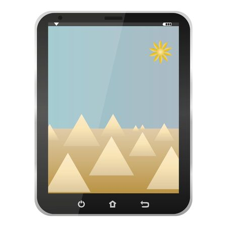 Tablet computer  Stock Vector - 16672180