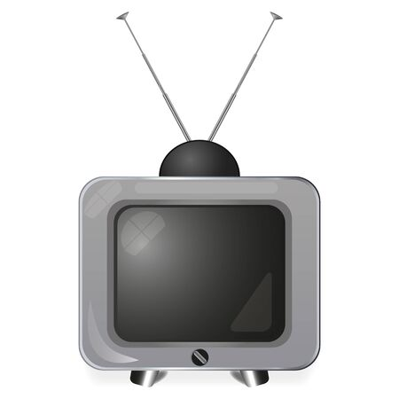 old TV  Stock Vector - 16672181