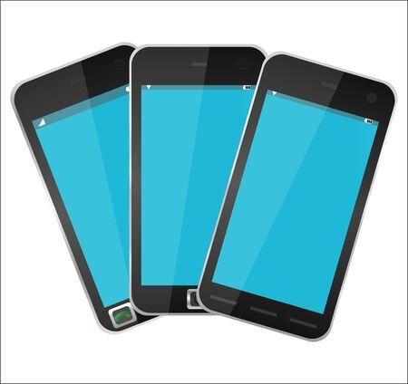 Mobile Phones Stock Vector - 16672185