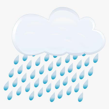precipitation: rain