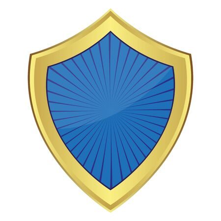 blue shield Stock Vector - 16973725