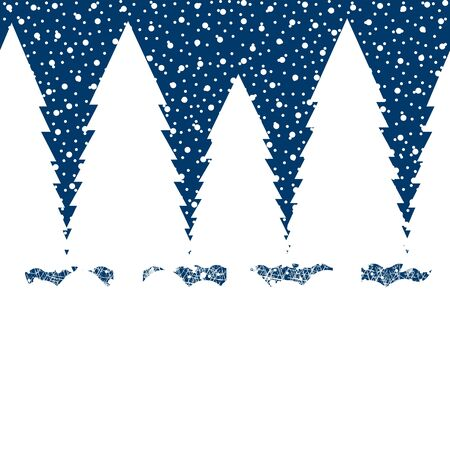 Background  Winter Landscape  Stock Vector - 16973743