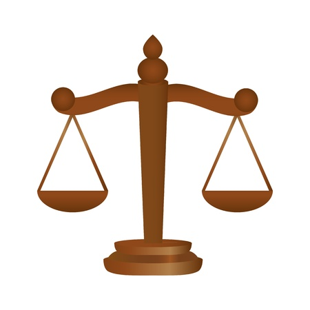 Scales of Justice Stock Vector - 16973749