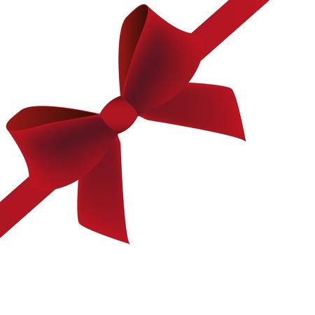burgundy ribbon: arco bordeaux Vettoriali