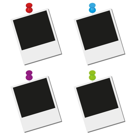 polaroid: tableaux accroch�s sur les ongles