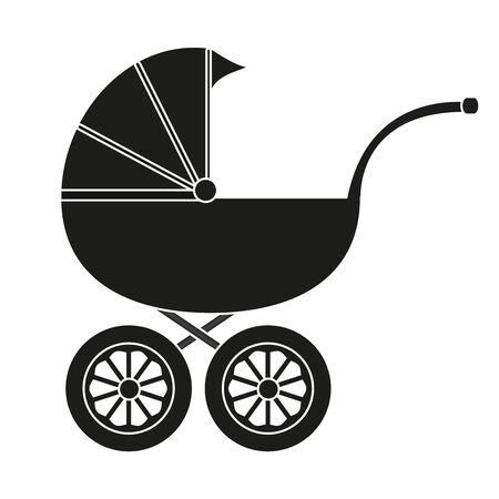 Baby carriage Stock Vector - 17054911