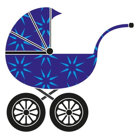 Baby carriage Stock Vector - 17054942
