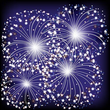 fireworks Stock Vector - 17133214
