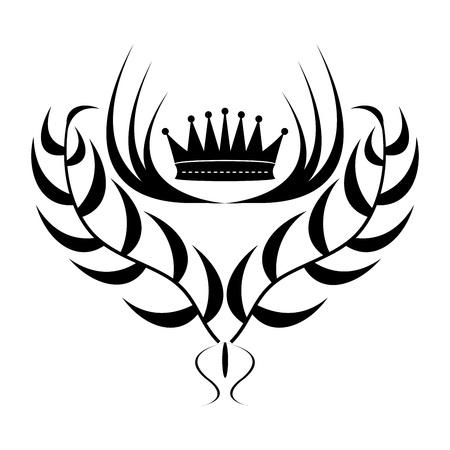 element for design: Element for design  crown