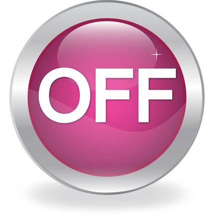 labeled: Internet button labeled  OFF  Illustration