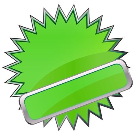Button Stock Vector - 17139932