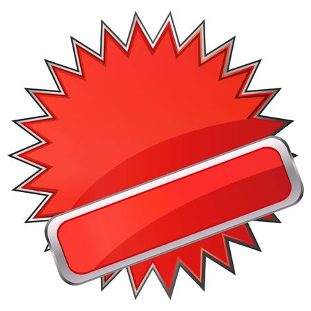 Red banner Stock Vector - 17140433