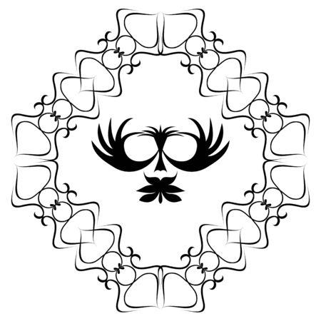 antique chic: Element for design Illustration