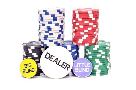 Chips to play poker Stock Photo - 17266007