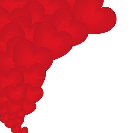 faithfulness: set of red hearts