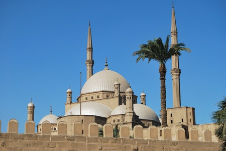 african worship: Mohammed Ali Mosque  Cairo  Stock Photo