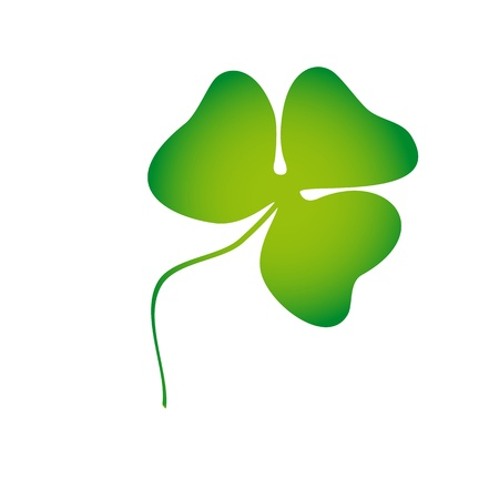 trifoliate clover Vector