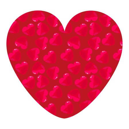 two hearts: heart of the small particles of hearts