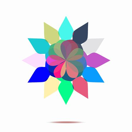 annotation: abstract flower