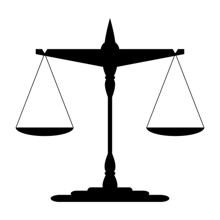Scales of Justice Stock Vector - 18748539