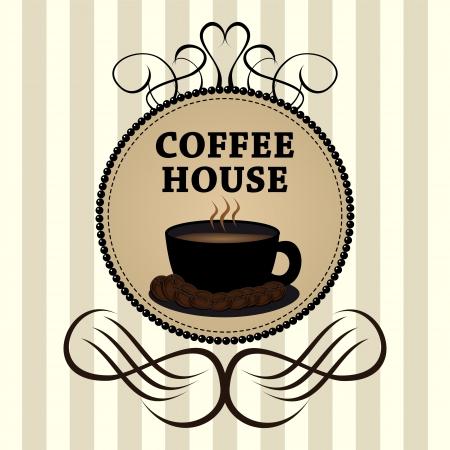Menu for restaurant, bar, cafe, dining room, coffee house Illustration