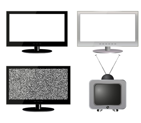 collection TVs Stock Vector - 21124076