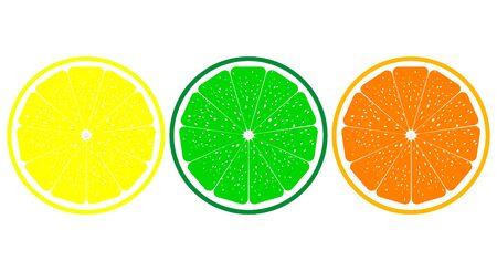 lemon lime: Arancia, limone, lime da vicino